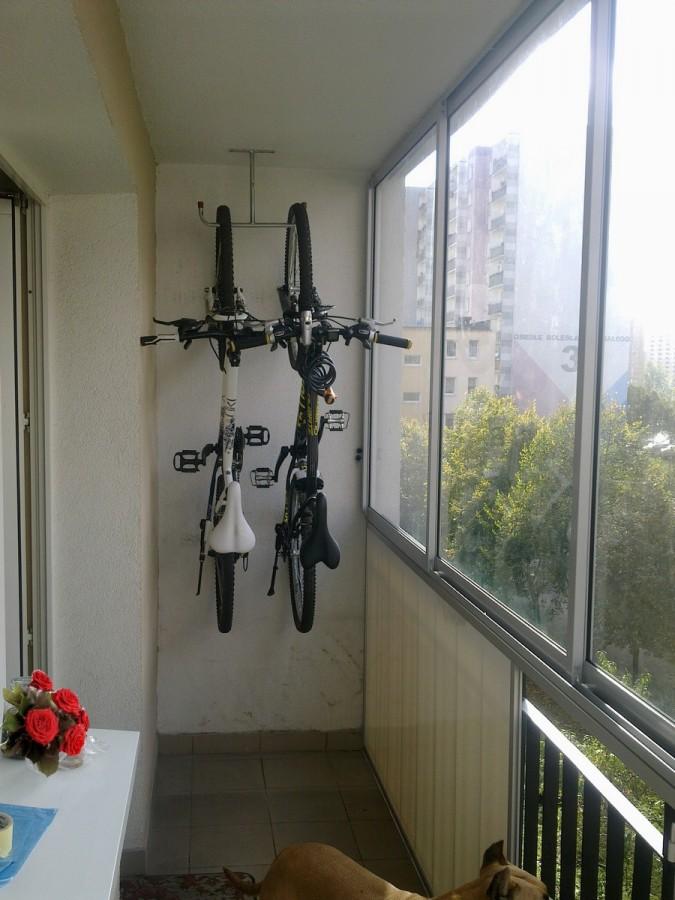 Zabudowa ramowa balkonu.