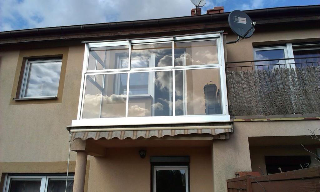 Zabudowa ramowa balkonu