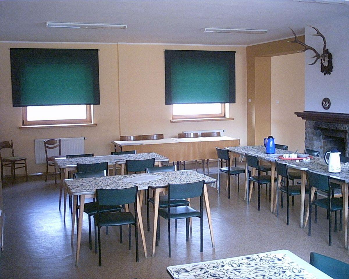 Sala konferencyjna przed modernizacją