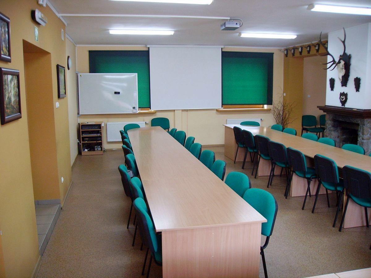 Sala konferencyjna po modernizacji