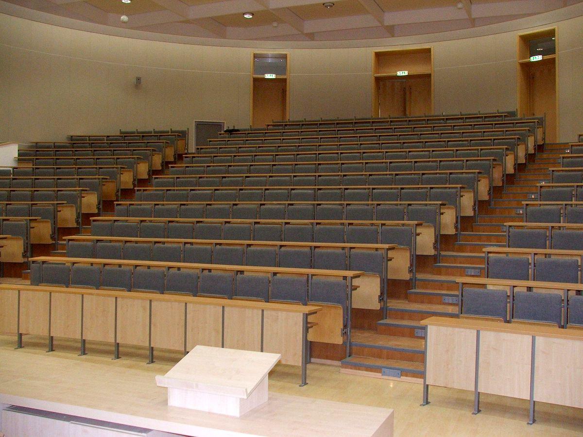 Aula Wydziału Geografii i Geologii