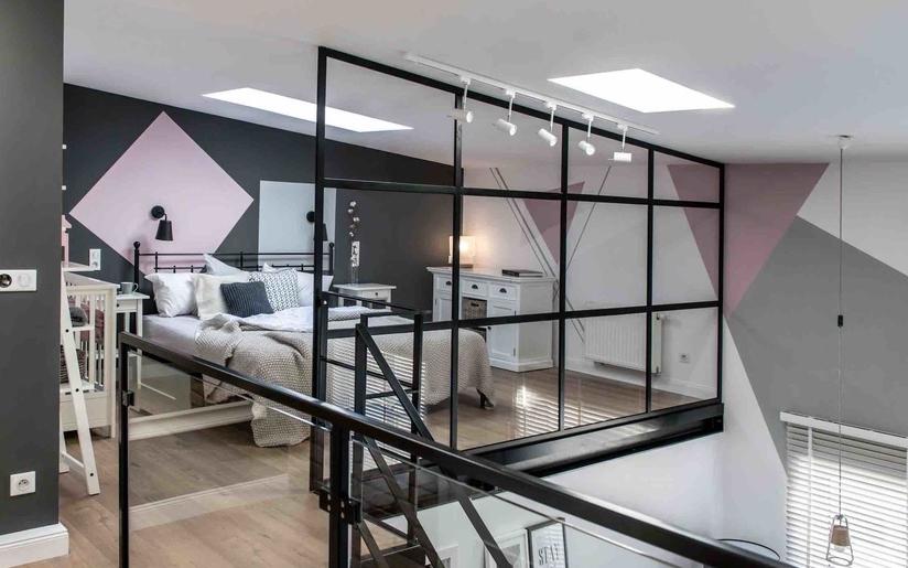 Ścianki industrialne / loftowe