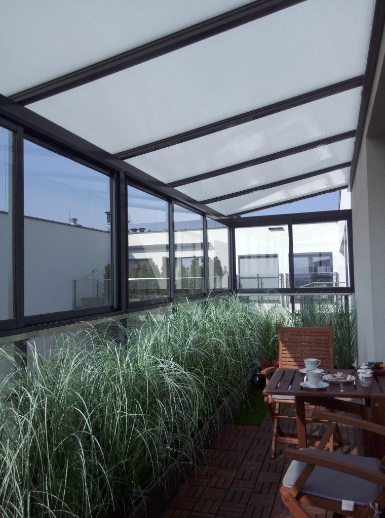 Zadaszenie balkonu